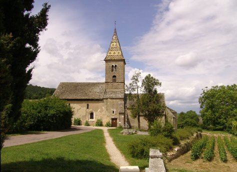 10th Century 'Romanesque' church of Fixey - dedicated to saint Anthony