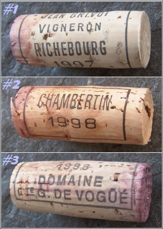 the corks