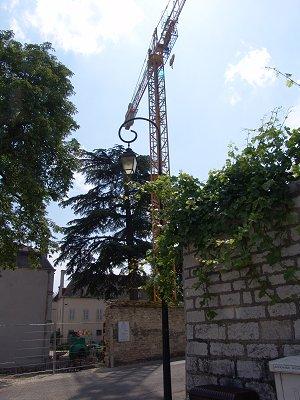 the belair crane