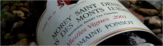 ponsot morey saint denis clos des monts luisants vieilles vignes