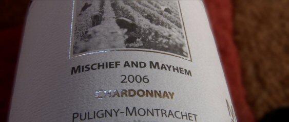mischief and mayhem 2006 villages puligny
