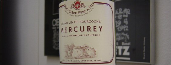 bouchard pere et fils mercury - new label