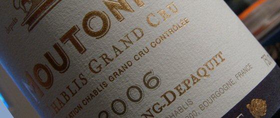 Chablis Grand Cru Moutonne, Long-Depaquit