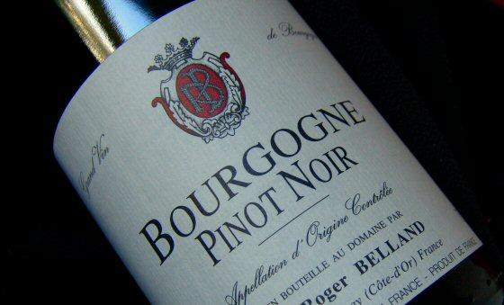 Roger Belland 2006 Bourgogne Pinot Noir