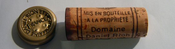 Daniel Rion Nuits St.Georges 1er Vignes Rondes
