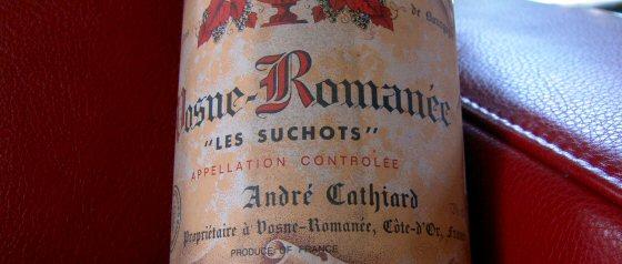 André Cathiard Vosne-Romanée 1er Les Suchots