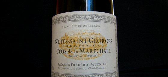 Jacques-Frédéric Mugnier Nuits 1er Clos de la Maréchale