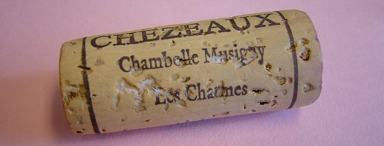 2007 Chézeaux, Chambolle-Musigny 1er Les Charmes