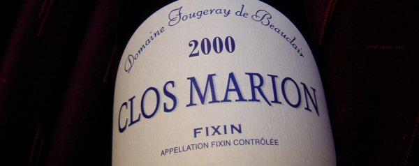 2000 Fixin, Clos Marion