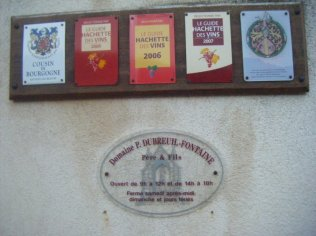 Domaine wall plaque
