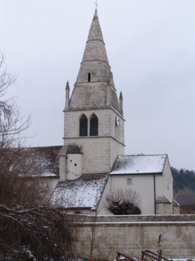 Auxey church