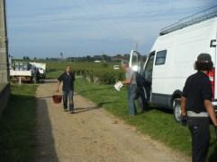 Deoart NSG 1er Les Porrets 03102013 Herve by the van door