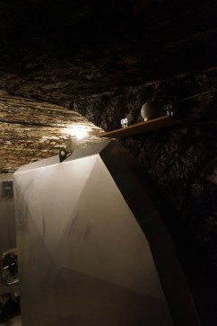 Tanks to fit the curve of the cellar walls...