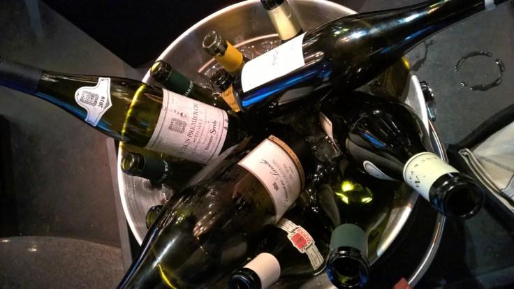 Les vins...