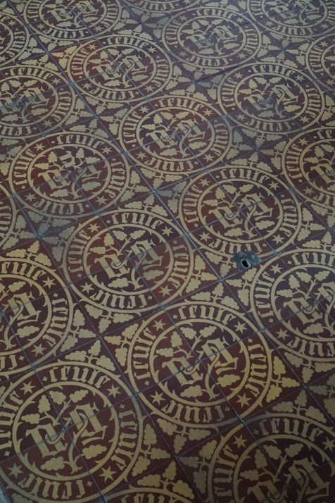 Seule - the tiles of the Hospices