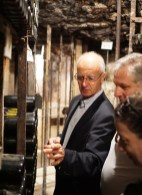"""No, only I have the key to this cellar!"" - Christophe Bouchard"