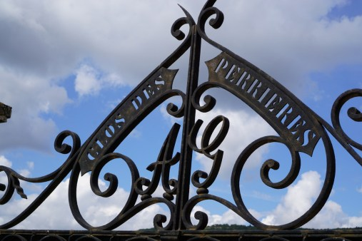 The gate of the Clos des Perrières