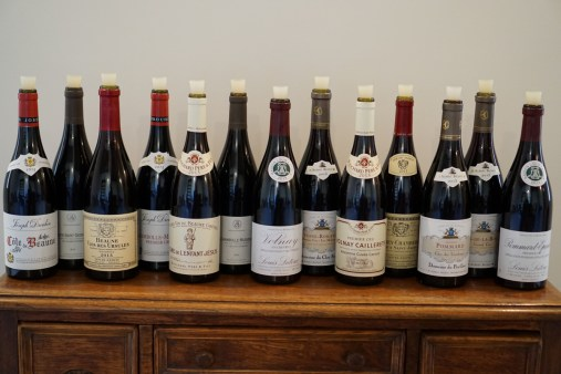 Beaune - on the table...