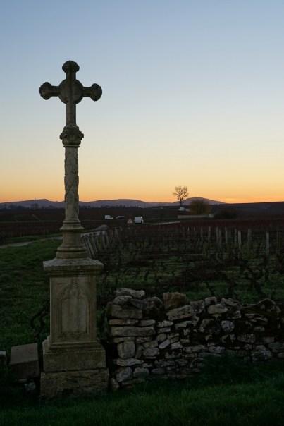 Meursault sunset...