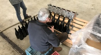 Magnum filling in Marsannay