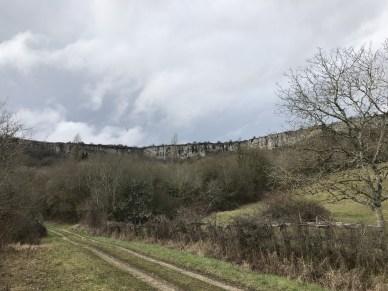 The cliffs of St.Romain