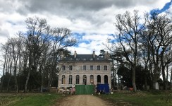 Not sure about those roof windows, but work progresses - (2nd) Château de Pommard...
