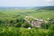 The view above Pernand...