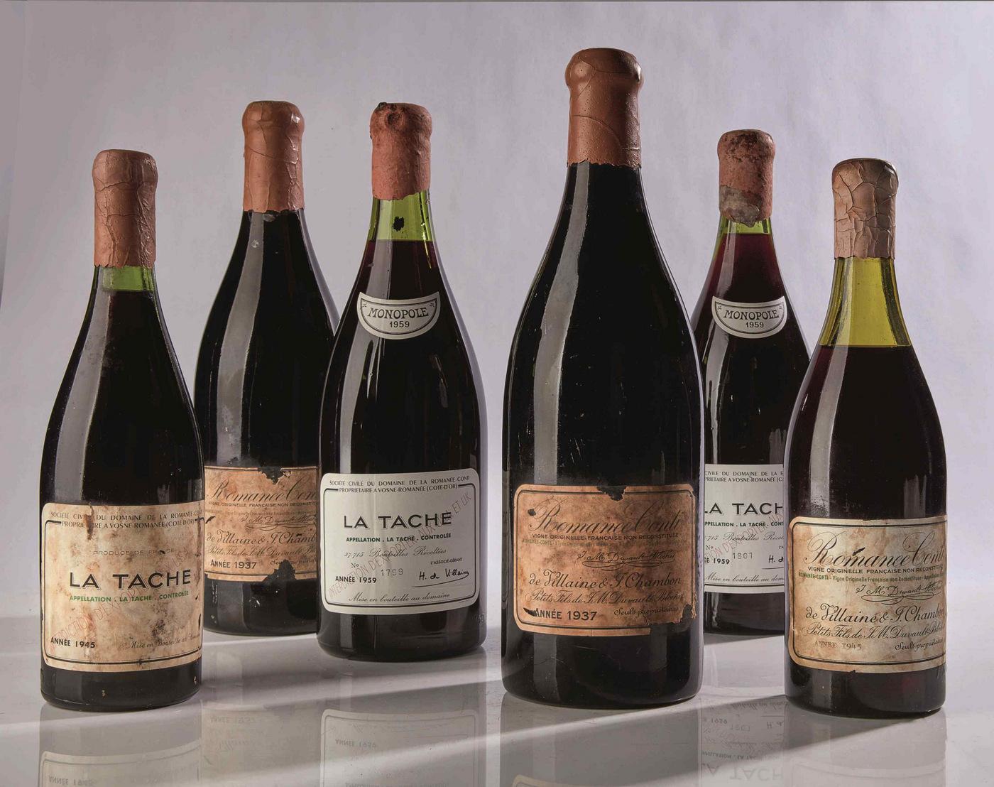 1945 Romanee-Conti Wine –  BiographyFlash.com