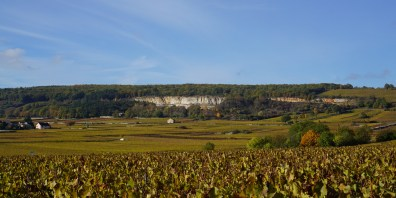 To Chassagne from over Montrachet...