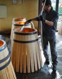 (Oak) barrels