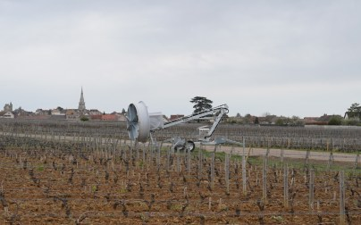 Getting windy in Meursault....