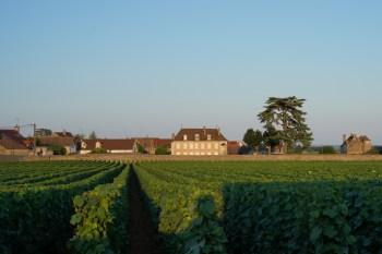 The view over Les Meix Gagnes and Au Village