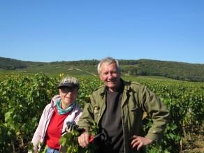 My team members Francoise et Jean-Philippe