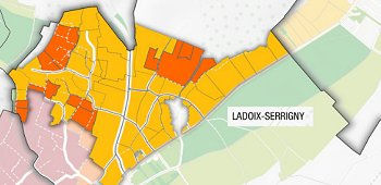 Ladoix map