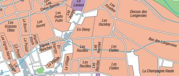 Marsannay map