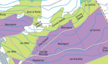 Santenay map