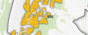 Viré-Clessé map