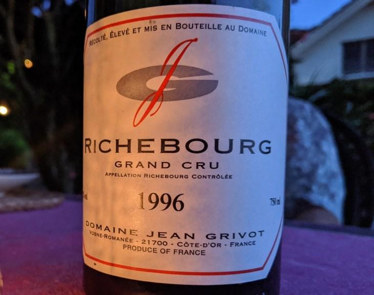 1996 Grivot Richebourg