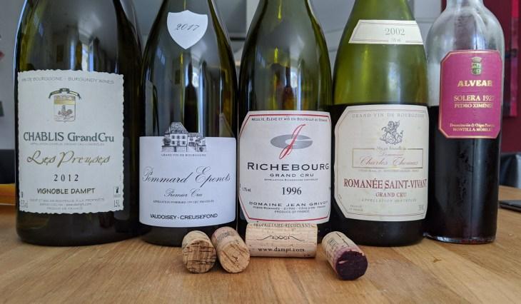 week 32 2020 - weekend wines