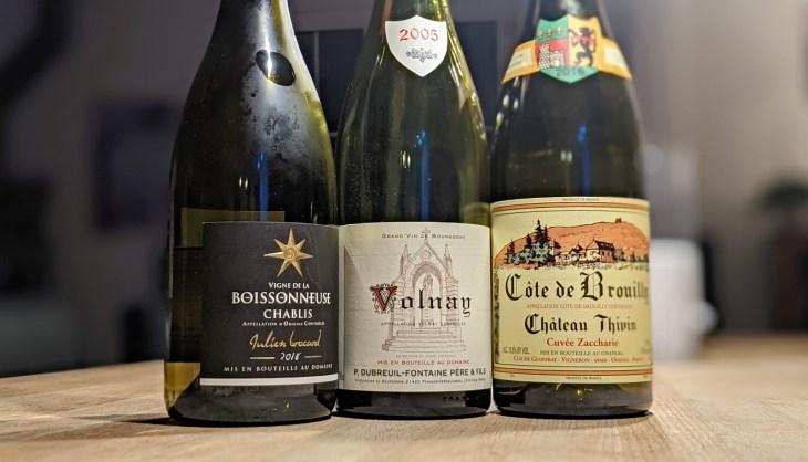 3rd weekend of 2021, wines