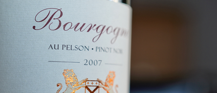 David Clark 2007 Bourgogne Au Pelson