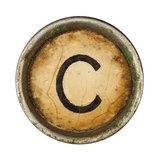 Type Writer Keys_C