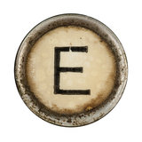 Type Writer Keys_E