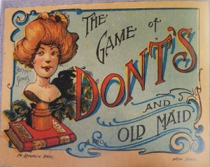 Old Maid Board Games
