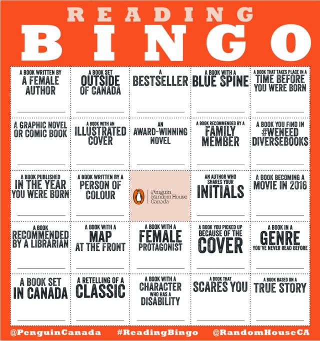 PRH Bingo 2016