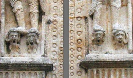 detail of the casa de montejo, merida, yucatan