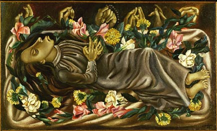 juan soriano, the dead girl (1938)