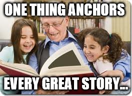 Saturday Discussion: What's Your Anchor?