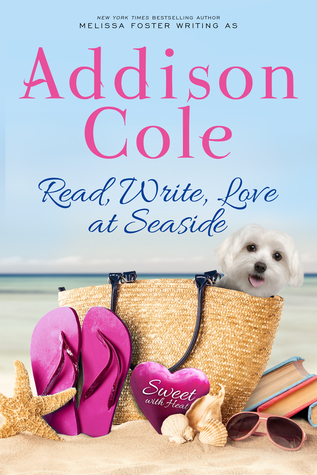 Blog Tour: Read, Write, Love at Seaside by Addison Cole (Excerpt, Review & Giveaway)