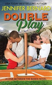 Author Visit: Double Play by Jennifer Bernard (Excerpt, Review & Giveaway)